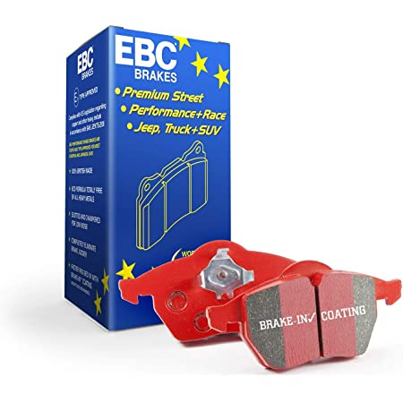NEW EBC 300mm FRONT USR SLOTTED BRAKE DISCS AND REDSTUFF PADS KIT PD07KF230