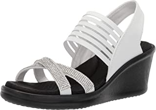 Skechers Women's Rumblers - Modern Maze Wedge Sandal,