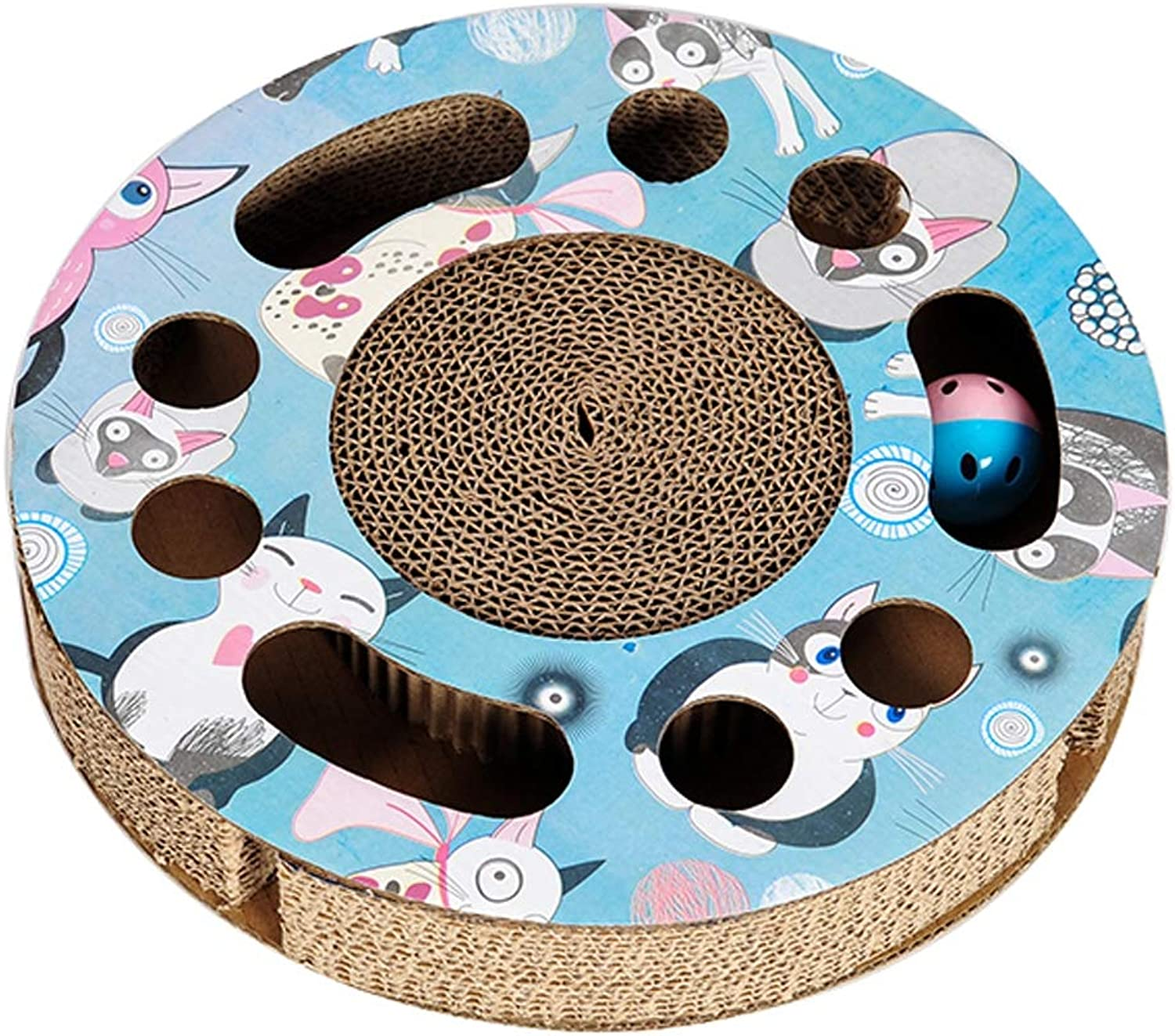 Cat Grab Board Combination Play disc Corrugated Paper cat Toy