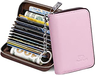 Credit Card Wallet, Zipper Card Cases Holder for Men...