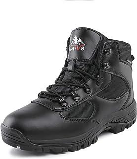 NORTIV 8 Men's Waterproof Hiking Boots Backpacking Trekking Trails