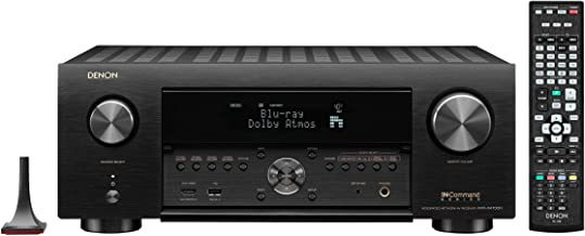 Denon AVR-X4700H 9.2-Channel 8K AV Receiver with 3D Audio and Amazon Alexa Voice Control (Renewed)