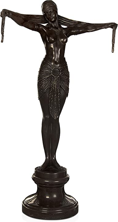 Scultura in bronzo ballerina, bronzo, 73x46x20 cm world art tw60462