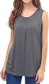 Women's Maternity Nursing Tank Top Sleeveless Comfy Breastfeeding Clothes