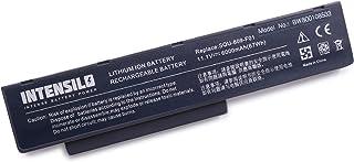 INTENSILO Li-Ion batería 6000mAh (10.8V) para Notebook Ordenador portátil Packard Bell EasyNote Hera C G, Hera GL LX.B200X.034 por 2C.20770.001, etc.