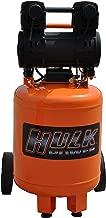 2 HP Quiet Portable Air Compressor, 125 PSI, 10 Gallon, HULK Silent Series, Model HP02P010SS by EMAX Compressor