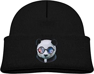Go Ahead! boy Kids Knitted Beanies Hat Hockey Mom Winter Hat Knitted Skull Cap for Boys Girls Blue