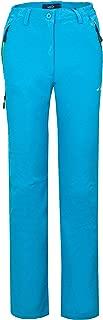 svacuam Women's Outdoor Windproof Softshell Fleece Lined Hiking Snow Ski Pants