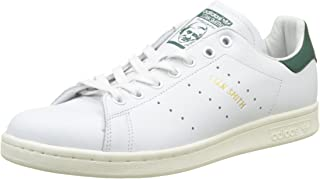 adidas Originals Unisex Stan Smith Leather Sneakers White in Size US 9.5 Men = 10.5 Women