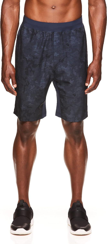 Gaiam Men's Yoga Shorts - Heather Arlington Mall Shor Workout Performance Gym Superlatite