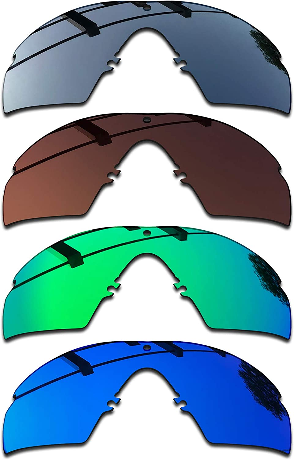 SEEABLE Excellent 2021 Premium Polarized Mirror Replacement S Oakley for Lenses