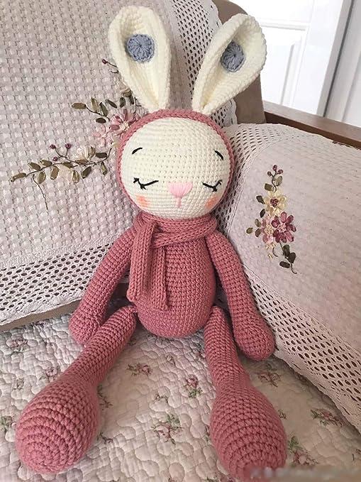 Crochet amigurumi bunny Personalized gift toy Christmas gift Stuffed animal Girl Boy Man Woman Wedding gift Softie  Black Gray White bunny