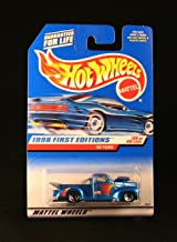 Hot Wheels '40 Ford Blue w/Thailand Base 1998 First Editions Series #20 of 40 Basic Car 1:64 Scale Series Collector #654
