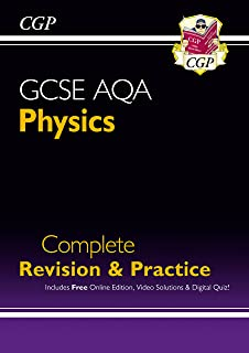 Grade 9-1 GCSE Physics AQA Complete Revision & Practice with Online Edition