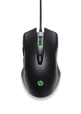 HP X220 Gaming Mouse, Backlit, Adjustable DPI, Optical Sensor for Pixar, Black