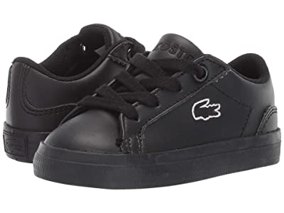 Lacoste Kids Lerond Bl 2 (Toddler/Little Kid) (Black/Black) Kid