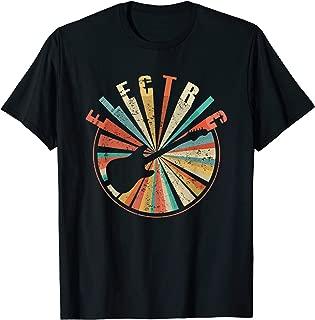 Electric Guitar T-Shirt - Vintage Retro Rock Music Gift