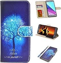 UrSpeedtekLive J7 Sky Pro Case, Galaxy Halo / J7 V / J7 Prime Wallet Case Flip PU Leather Cover w/Card Holder Slot Pockets,Wrist Strap,Magnetic Closure for Samsung Galaxy J7 2017,Believe in Yourself