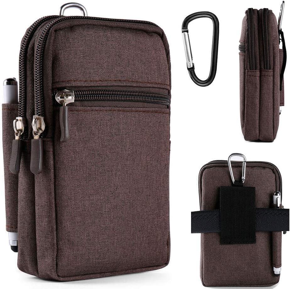 Universal Multipurpose Water Resistant Cellphone Waist Bag Wrist Pouch Tactical Pack for Google Pixel 3a XL, Pixel 3 XL, Sony Xperia XA2, Moto G6, LG G5 G6, LG stylo 4 LG stylo 3, LG stylo 2