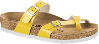 Birkenstock Mayari Strapy Sandal in Narrow Width Yellow