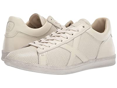 John Varvatos Soft Tumbled Calf Low Top (White) Men