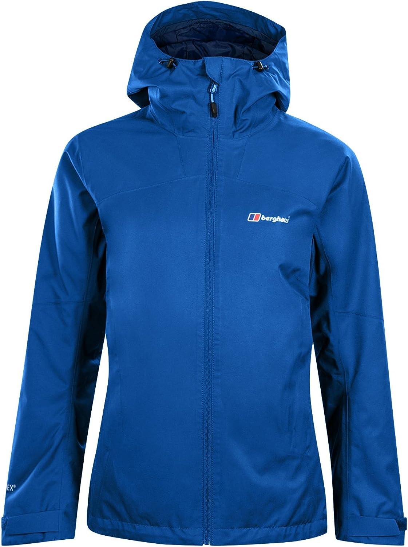 (Size 18, Galaxy blueee)  Berghaus Women's Fellmaster GoreTex Waterproof Jacket'