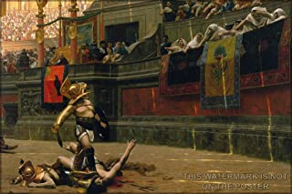 Pollice Verso (Thumbs Down) by Jean-Leon Gerome, 1872 - 24