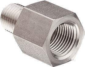 Straight Adapter 6 Units Steel Brennan 1//4 in Male JIC 37/° Flare x 12 mm Male ISO