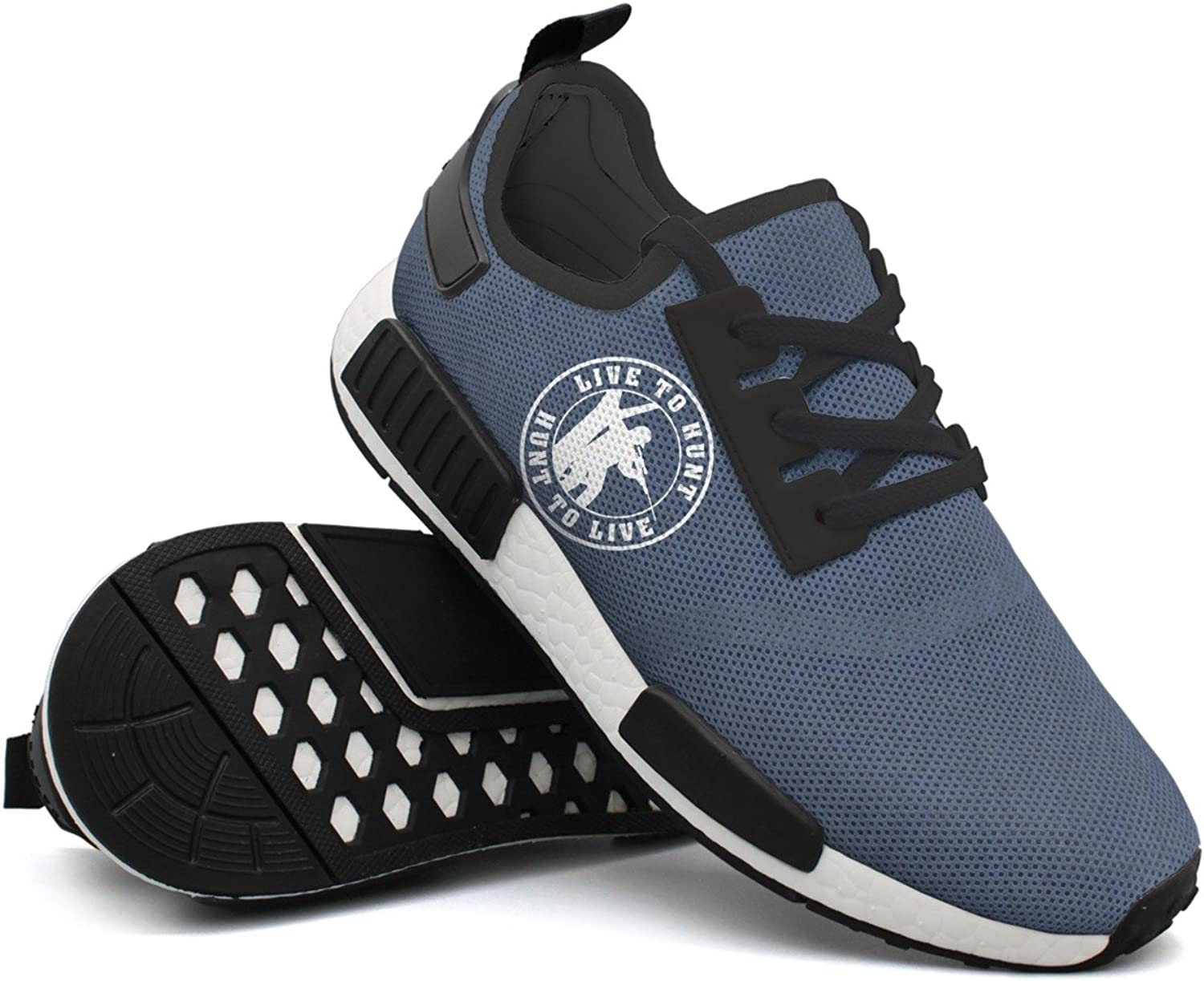 Hunt To Live1 Men Mini Funny Casual Running shoes Camping Mens