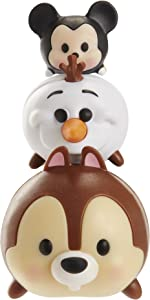 Tsum Tsum 3-Pack Figures: Chip/Olaf/Mickey