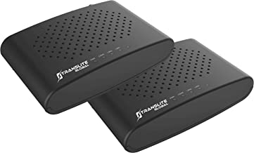 Best MoCA 2.5 with 2 Gigabit Ethernet Ports - Ethernet Over Coaxial Adapter (Model: TL-MC84) (Two Pack) Review