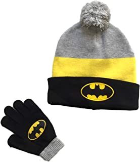 Batman Little Boys 2 Piece Cold Weather Hat Glove Set
