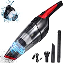 Fityou Handheld Vacuum Cleaner Cordless, Rechargeable(USB Charge), Powerful Suction Cleaner, Portable Hand Vacuum for Pet ...