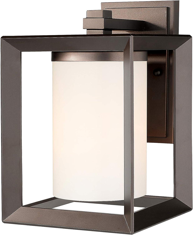 Emliviar Indoor Outdoor Wall Max 57% OFF Sconce Rubbed Br Popularity Oil Fixture Light