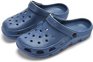 كلاسيك رجل وإمرأة ثقب حذاء بالغ رجل وإمرأة حديقة حذاء 43 Dark blue