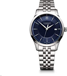 Victorinox Swiss Army Alliance Blue Dial Stainless Steel Watch 241802