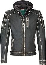 The Signatures Joker The Killing Jacket Distressed Black Real Leather Jacket