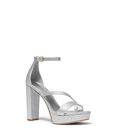 MICHAEL Michael Kors Tanner Platform (Silver) Women