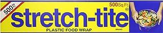 Stretch-Tite Premium Plastic Food Wrap, 500 Sq. Ft., 516.12-Ft. x 11.5/8-Inch