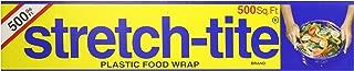 Stretch-Tite Premium Plastic Food Wrap, 500 Sq. Ft, 516.12-Ft. x 11.5/8-Inch