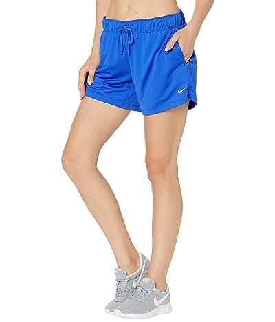 Nike Dry Attack Shorts (Hyper Royal/White/White) Women