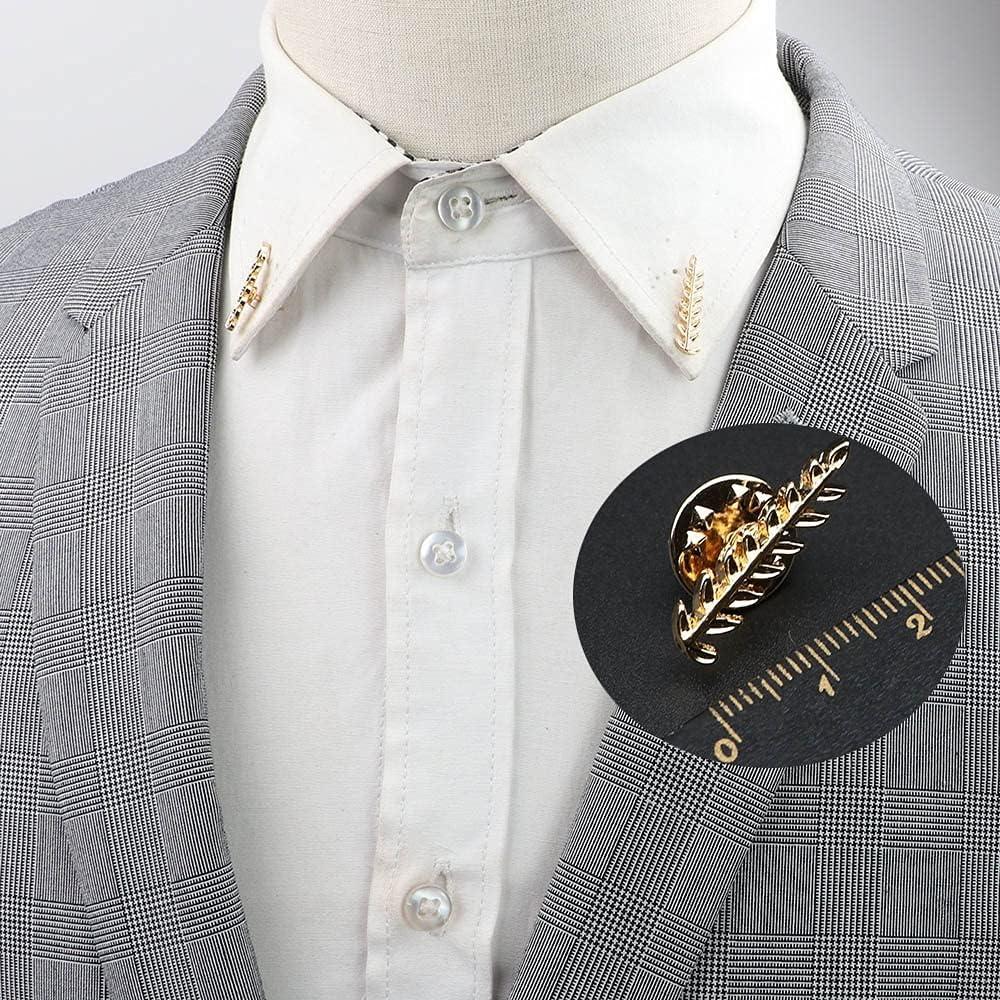 [Alternative dealer] GYZX 1 Pair Direct store Delicate Crystal Diamond for Men Brooch Women V Pins