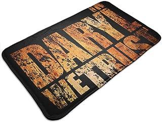HUTTGIGH Walking Dead In Daryl We Trust - Felpudo antideslizante para entrada de baño, cocina, alfombra de 19,5 x 31,5 pul...