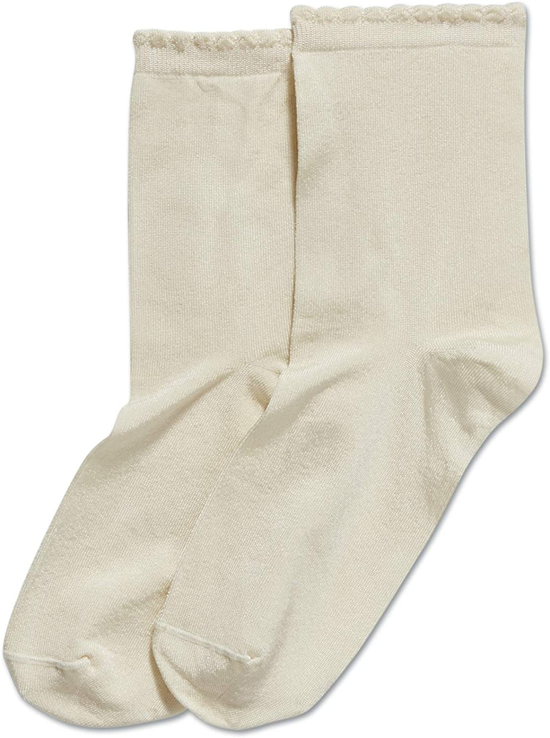 HUE womens Casual Knit Shortie Ankle Socks