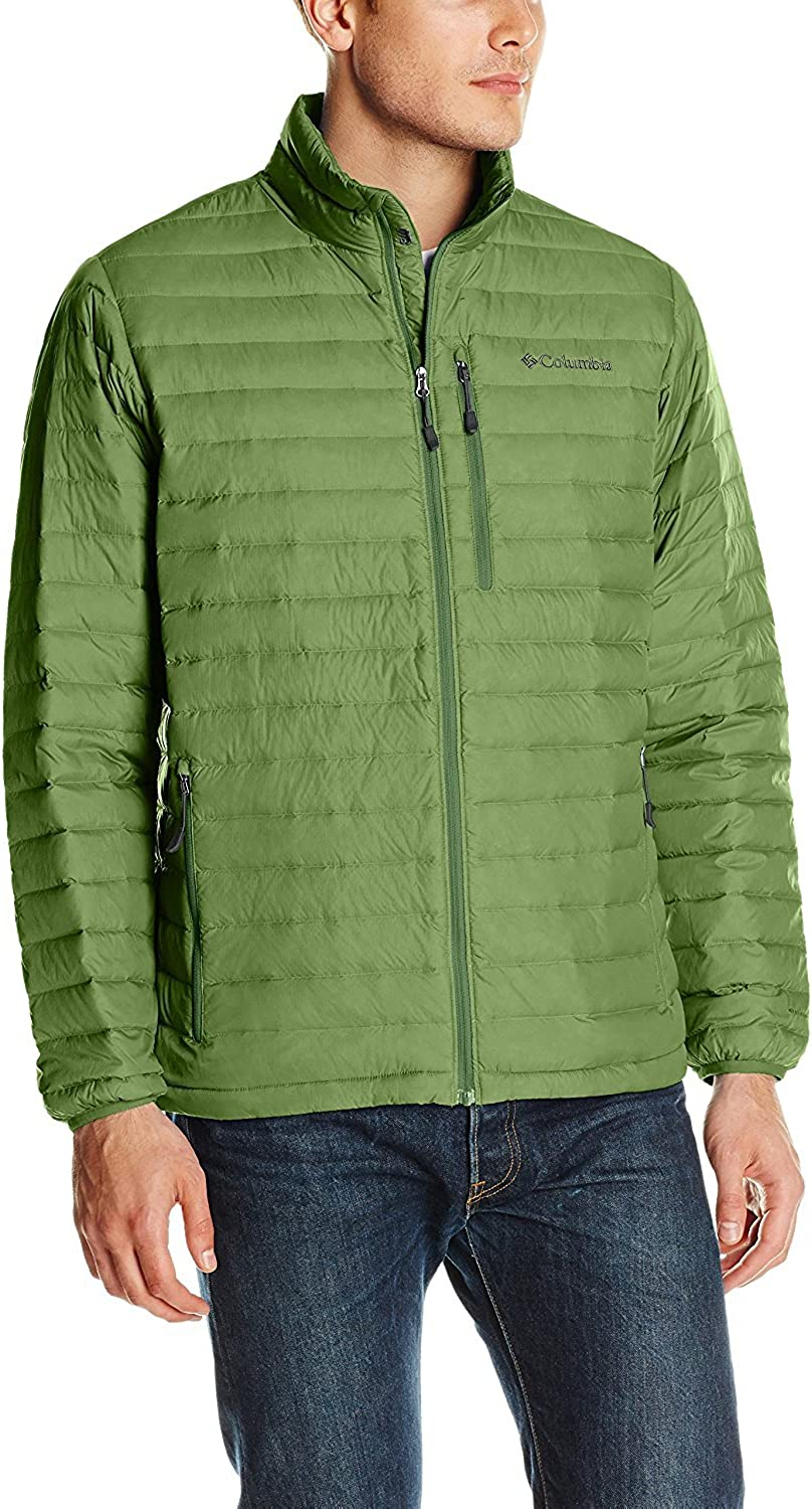 Blue NWT Columbia Compactor 800 Fill Down Lightweight Warm Jacket M