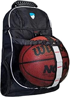 Hard Work Sports Basketball Bag - Soccer Backpack with Ball Compartment - All Sports Bag
