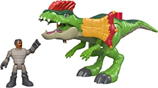 Fisher-Price Imaginext Jurassic World, Dilophosaurus & Agent