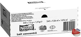 Nestlé Lait Concentré - Coupelle De Lait Concentré - Carton De 240 Coupelles De 7, 5g
