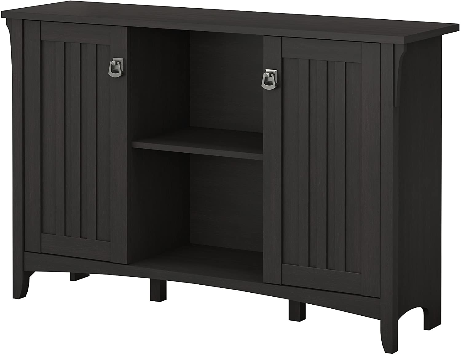 Bush Large-scale sale Rapid rise Furniture Salinas Accent Storage Doors Vint with Cabinet in