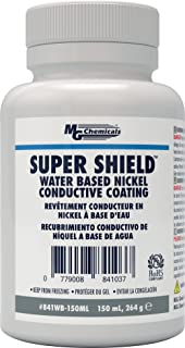 MG Chemicals 841WB Super Shield Water Based Nickel Print Conductive Coating, 150mL Liquid